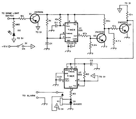 burglar alarm burglar alarm wiring diagram