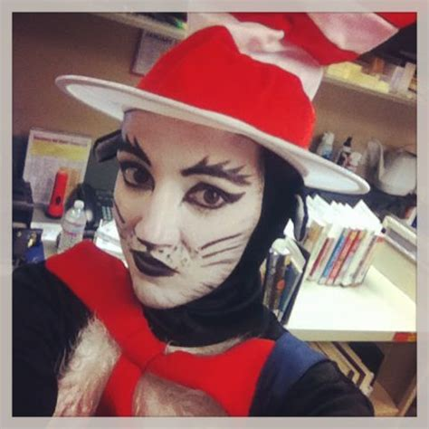 cat   hat face paint  read  america love dr