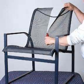 How To Reweb A Lawn Chair by Rewebbing Patio Chairs Vintage Fixing Re Webbing A Patio