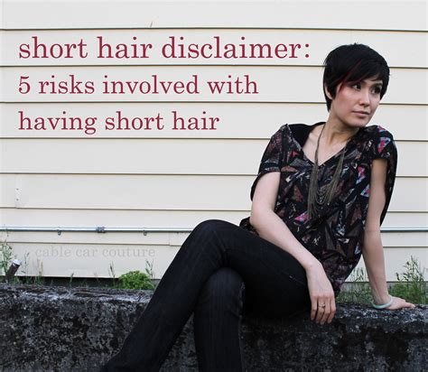 Short Hair Disclaimer: 5 Risks Involved With Having Short