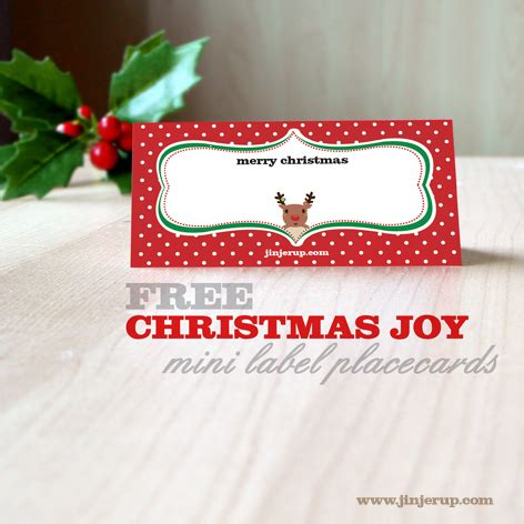 printable christmas name cards 9 best images of printable christmas name cards free