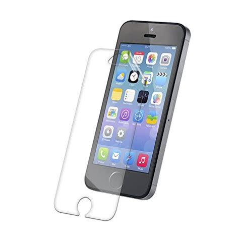 hdx apple iphone 55s screen protector zagg zagg invisibleshield hdx screen protector hd clarity