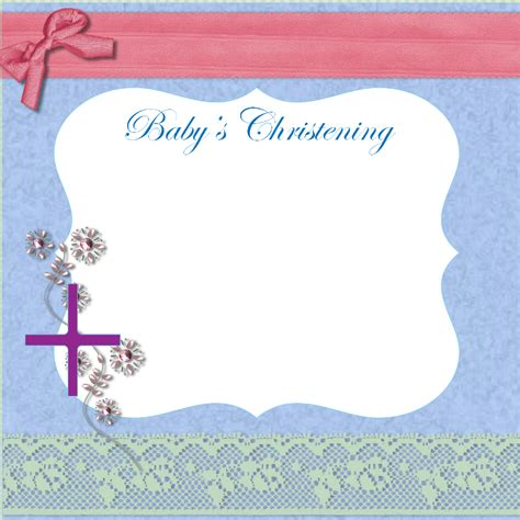 free printable christening cards templates free printable baptism invitation