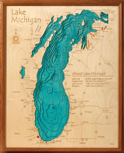 Kitchen Devils Knives 3d lake maps show the topography of your favorite us or