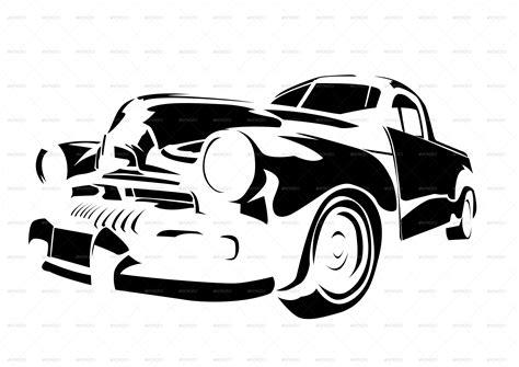 vintage cars collection  raduborzea graphicriver