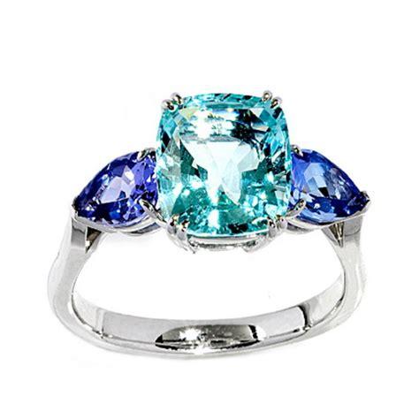 Aquamarine and Tanzanite Ring   Gallery