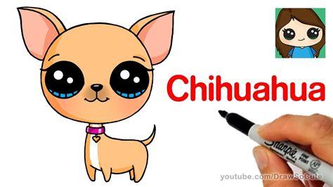 draw  chihuahua easy youtube