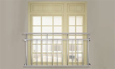 ringhiera balcone ringhiera balcone in acciaio inox groupon goods