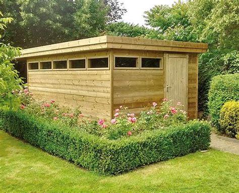 maximale grootte tuinhuis geen vergunning hoogte tuinhuis plat dak dikke houten balken
