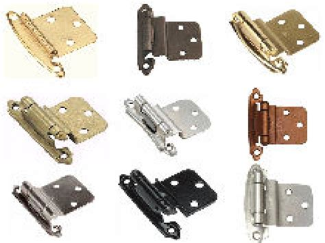 kitchen cabinet door hinge types types of cabinet hinges manicinthecity