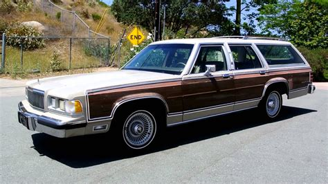 mercury marquis v 1983 1986 station wagon 5 door outstanding cars