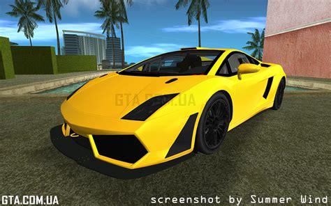 Lamborghini Gallardo Lp560 Gt3 Lamborghini Gallardo Lp560 4 Gt3 Tt для Gta Vice City