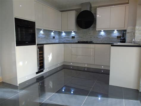 gloss kitchen tile ideas high gloss grey floor tiles tile design ideas