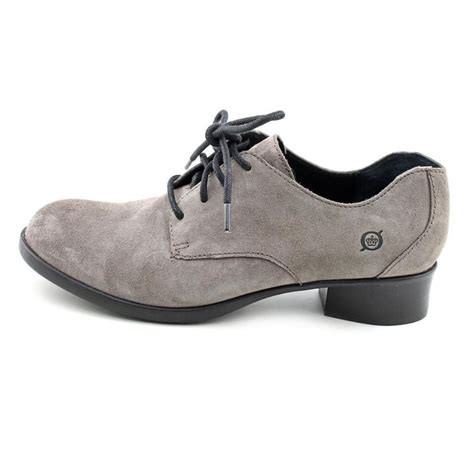 gray oxford shoes womens born born mott leather gray oxford oxfords