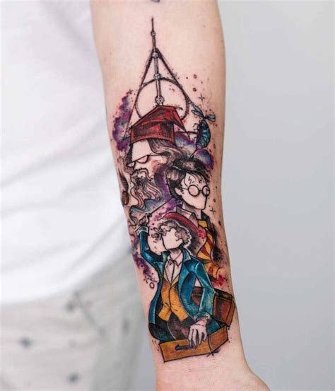 harry potter tattoo on arm best tattoo ideas gallery