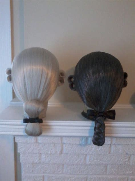 18th century black smith hair 18th century double curled men s wig choice of by