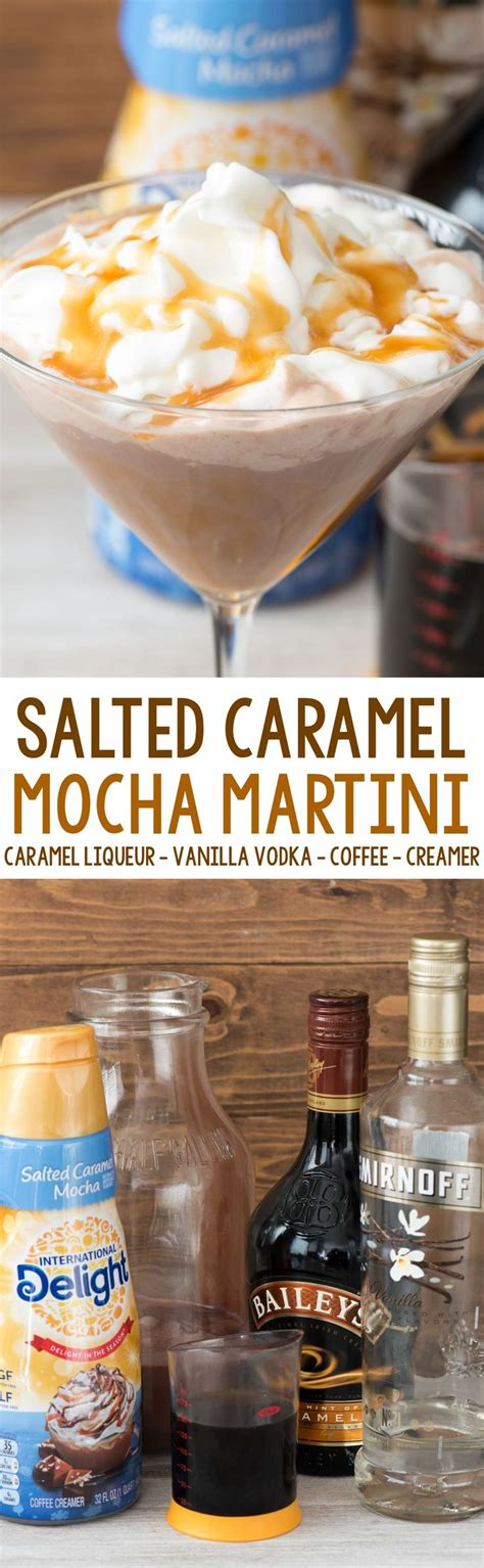 salted caramel martini recipe salted caramel mocha martini recipe cocktails vodka