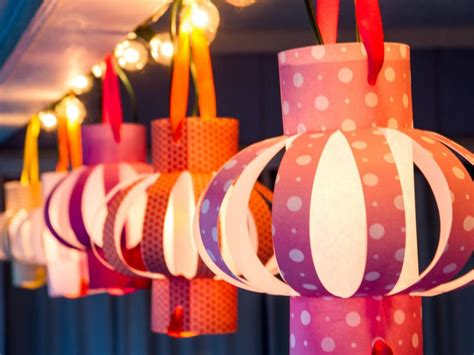 do it yourself paper lanterns hgtv