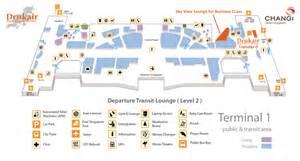singapore changi sin airport terminal map