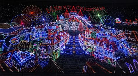 nagoya station illumination christmas   illuminati flickr