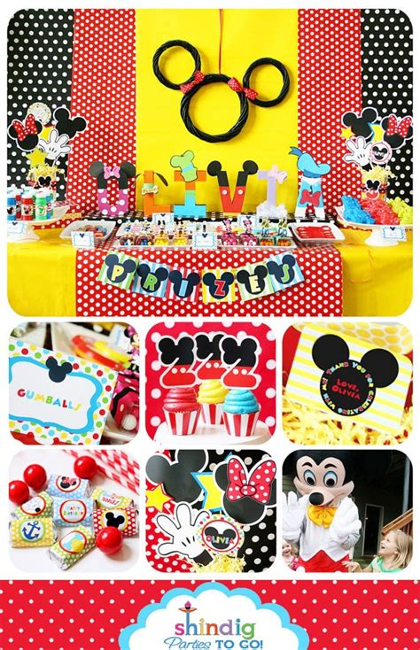 mickey mouse clubhouse printable birthday decorations mickey mouse clubhouse party printable birthday inspired