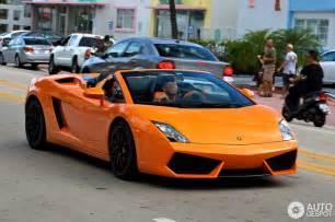 Lamborghini Gallardo Spyder Orange Orange Lamborghini Gallardo Spyder