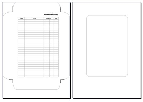 How To Make An A5 Envelope Out Of A4 Paper - free a5 planner templates calendar template 2016