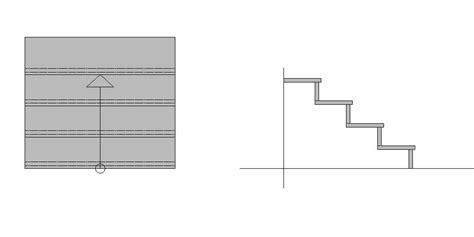 tritt und setzstufen beton treppengeometrie f 252 r au 223 entreppen und innentreppen