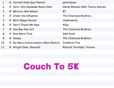 couch to 5k weightloss blog posts dgposts