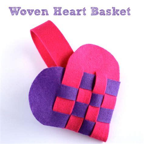 pattern for woven heart basket woven heart basket