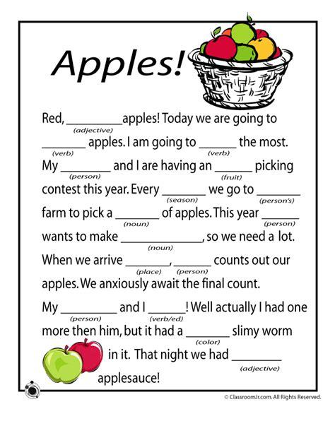 free printable christmas mad lib games fall mad libs apples woo jr kids activities