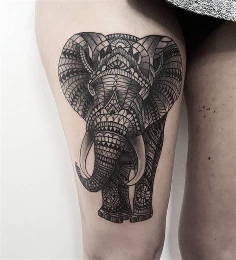 pattern ornamental tattoo ornamental elephant tattoo