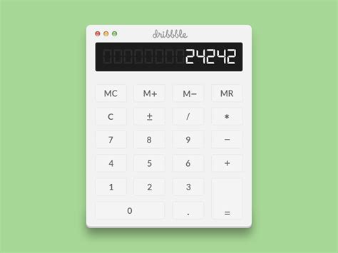 calculator simple simple calculator psd free vector graphic download