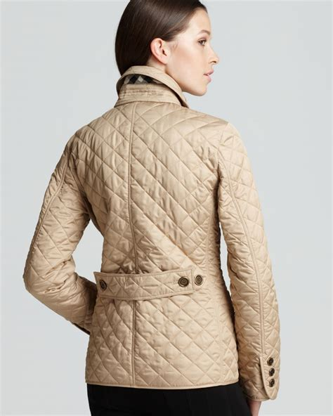 Burberry Quilt Jacket by Burberry Brit Copford Quilted Jacket In Beige New Chino