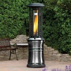 lifestyle santorini 11kw gas patio heater gardener