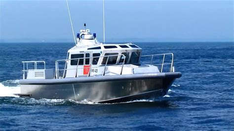 metalcraft fire boat metalcraft marine sentry 44 youtube
