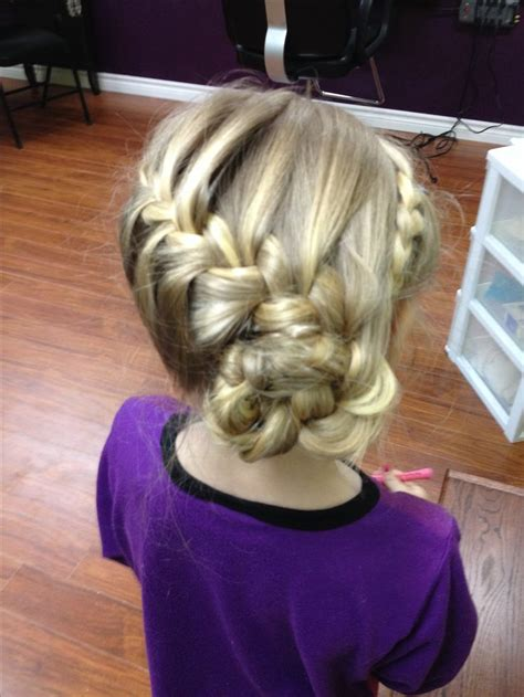little girl hairstyles updo cute little girls updo hairstyles pinterest updo