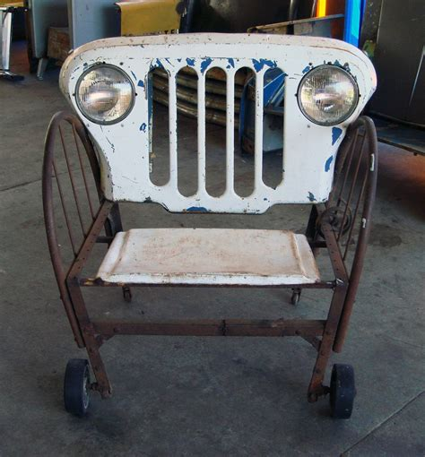Jeep Jump Seat In The Name Of Vintage Una Silla Por Favor A Chair