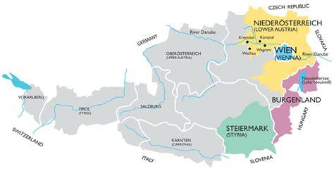 austria regions map austria wine guide wine regions guides wine world news