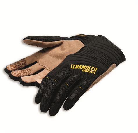 Motorradbekleidung 2 Hand by Ducati Scrambler 15 Handschuhe Overland Textil Schwarz