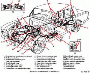 Car Lighting System Components Rolls Royce Silver Shadow Hydraulic System