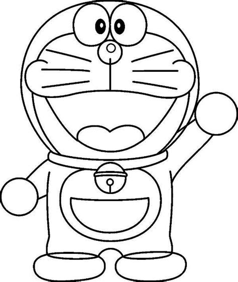 pages of doraemon doraemon free coloring pages