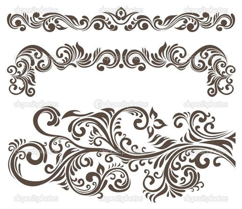 pattern vector motifs floral motif henna pinterest logos do you and you think
