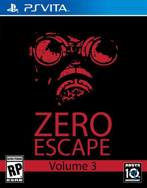escape the getaway series volume 3 zero escape 3 available for pre order on for vita