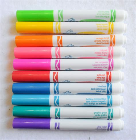 crayola color markers crayola ultra clean washable markers color max what s