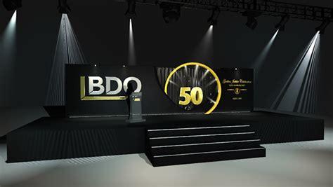 backdrop design for dinner bdo on behance