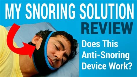my snores my snoring solution review does this anti snoring chinstrap work