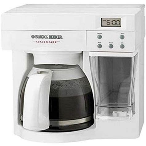 BuyDig.com   Black & Decker ODC440W SpaceMaker Under The Counter 12 Cup Coffee Maker [white]