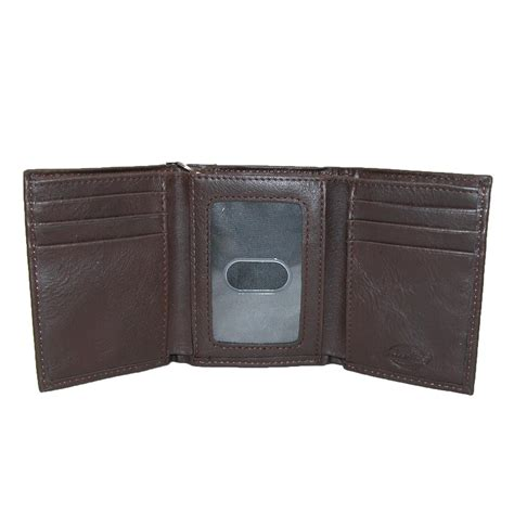 leather trifold chain wallet by dickies chain wallets