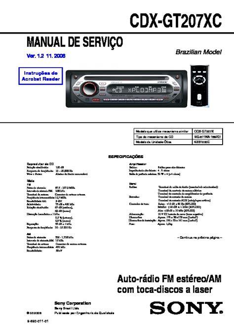 sony xplod cdx gt210 wiring harness diagram sony stereo